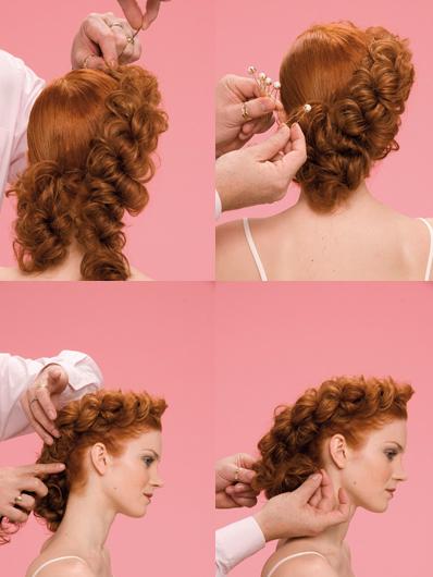 элементарные прически на длинные волосы