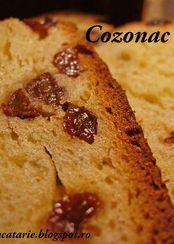 5 retete de cozonaci pentru Paste: Cozonac cu stafide