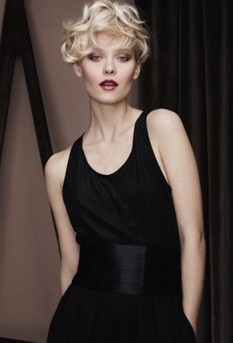 Glamour Retro Pentru Parul Scurt Salonul Dessange Coafuri