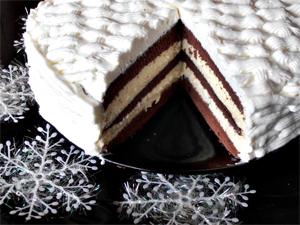 5 retete de tort pentru masa de Revelion: Tort Vis de Iarna