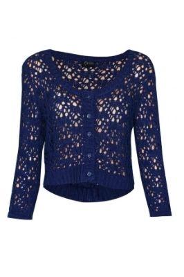 15 Modele de tricotaje in tendinte: Bluza tricot dantelat