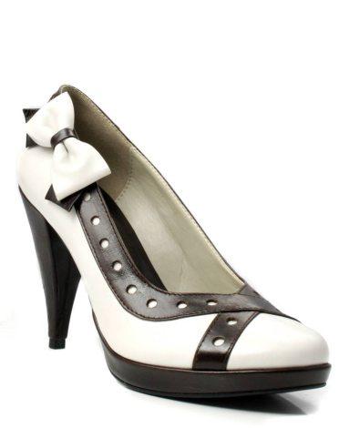 In tendinte: 25 de modele de pantofi superbi, cu toc: Pantofi CorvariS ultraeleganti