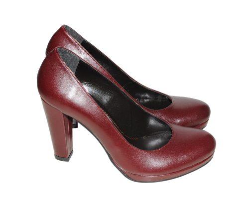 In tendinte: 25 de modele de pantofi superbi, cu toc: Pantofi bordo La Femme