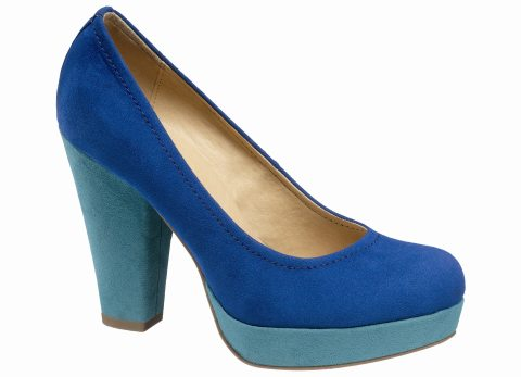 In tendinte: 25 de modele de pantofi superbi, cu toc: Pumps cu toc bloc