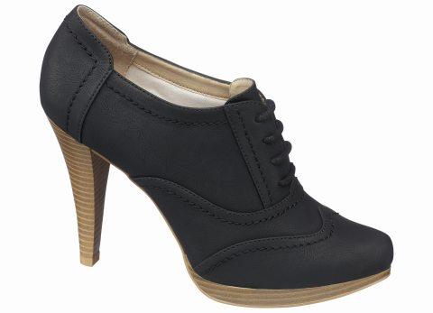 In tendinte: 25 de modele de pantofi superbi, cu toc: Pantofi-botine cu siret