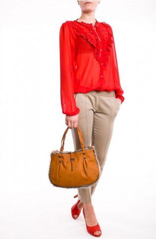 29 de bluze si camasi elegante pentru toate gusturile: Camasa eleganta, cu dantela