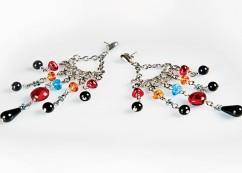 15 bijuterii absolut superbe, pentru femei romantice: Cercei Devi Milefiori