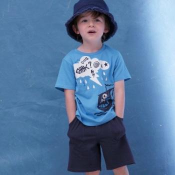 15 hainute pentru fetite si baieti: Set tricou si bermude