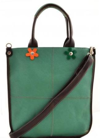Moda accesibila: 21 de piese vestimentare si accesorii ieftine, sub 100 de RON: Geanta chic verde