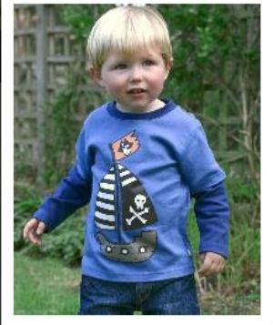 15 Hainute de vara irezistibile pentru copilul tau: Bluza Nava piratilor