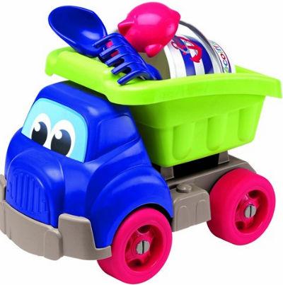 10 Accesorii de plaja ideale pentru copii: Camion cu Set pentru Nisip