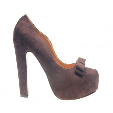 Incaltaminte in tendinte la preturi accesibile: Pantofi dama maro Ego