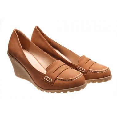 Incaltaminte in tendinte la preturi accesibile: Pantofi de dama camel Iuliana