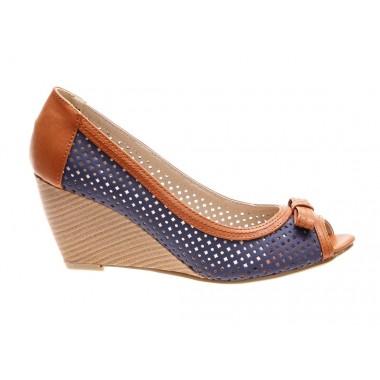 Incaltaminte in tendinte la preturi accesibile: Pantofi de dama blue Sunshine