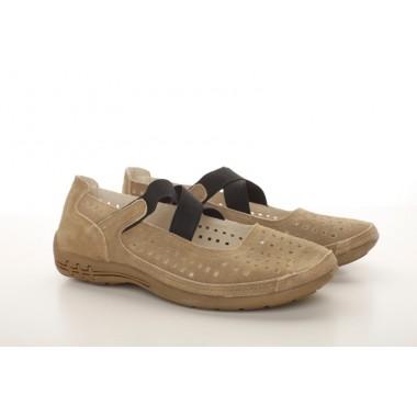 Incaltaminte in tendinte la preturi accesibile: Pantofi kaki casual Mihaela