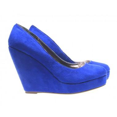 Incaltaminte in tendinte la preturi accesibile: Pantofi dama albastri Coral