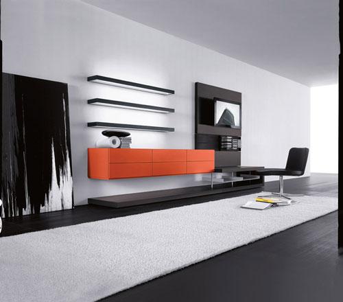 Living pianca mobilier modern for Meuble de living moderne