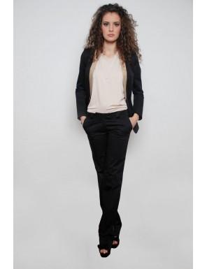 20 de modele de pantaloni eleganti: Pantaloni PNK, culoarea neagra