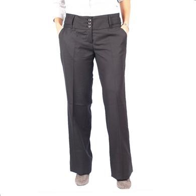 20 de modele de pantaloni eleganti: Pantaloni Reserved cu talie inalta