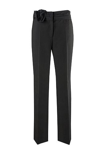 20 de modele de pantaloni eleganti: Pantaloni negri office