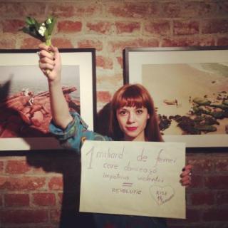 NU violentei asupra femeilor: Danseaza si tu pe 14 februarie, pentru adevarata iubire!: Andreea Molocea -  eveniment unic in istoria umanitatii!