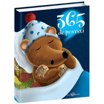 10 Carti de povesti captivante pentru cei mici: 365 de povesti