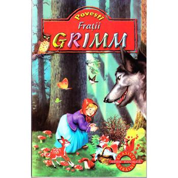 10 Carti de povesti captivante pentru cei mici: Povesti - Fratii Grimm